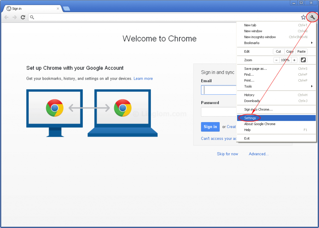 Disable Chrome Popups 1