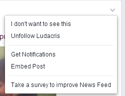 Facebook - How to Unfolow