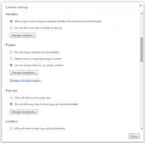 Disable Chrome Popups 4